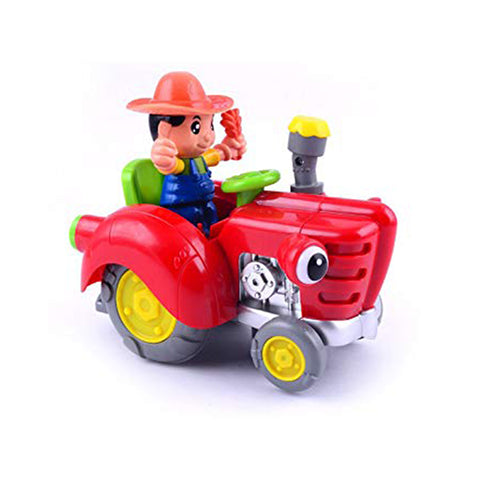Colorful Swing Farmer Tractor