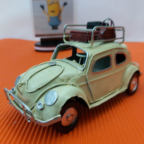 Metal Hand Made - Volkswagen Beetle Taxi