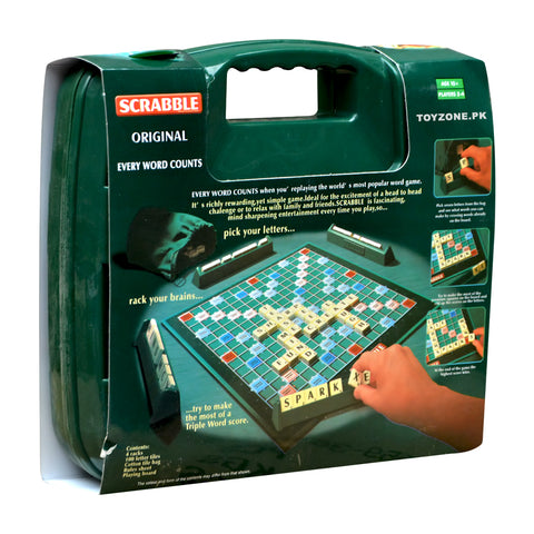 Original Scrabble Briefcase