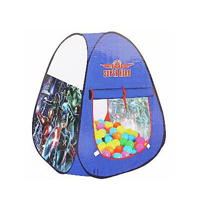 Super Hero Tent House With 50 Balls