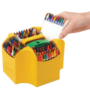 Crayola Ultimate Assorted 152 Color Crayon Box with Sharpener Caddy