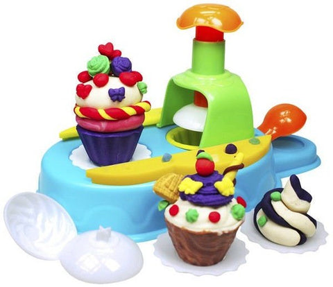 Kid's Dough Cupcake Station