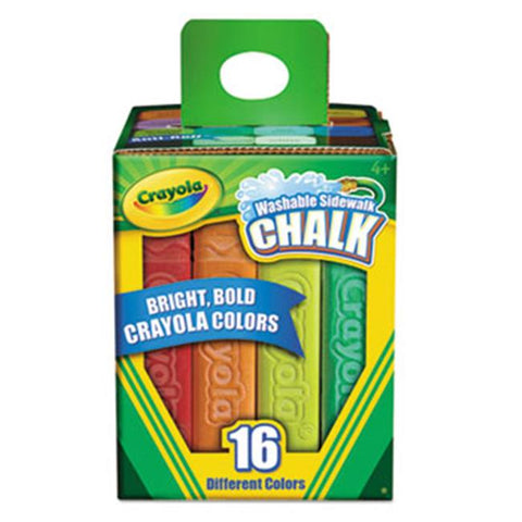 Image of Crayola Washable Sidewalk Chalk