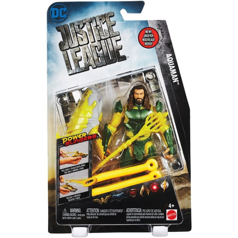 Image of Justice league Aquaman figure with Power Slingers-FGG60