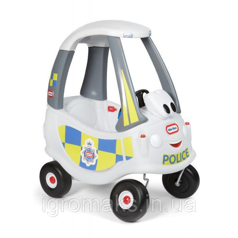 Little Tikes Cozy Coupe Police Car White