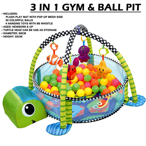 Moon baby 3 IN 1 Gym & Ball