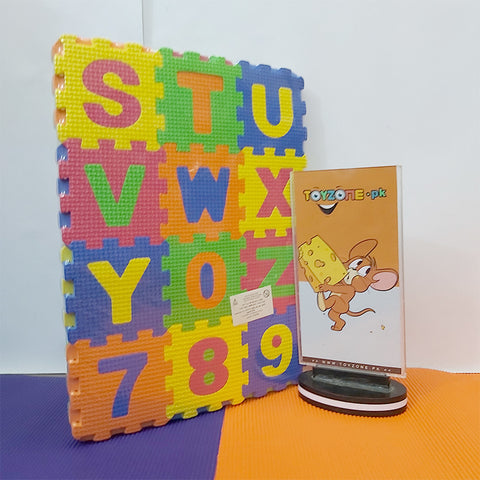 Foam Play Mats With Letters & Numbers