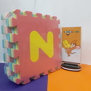 Foam Play Mats With Letters - STO