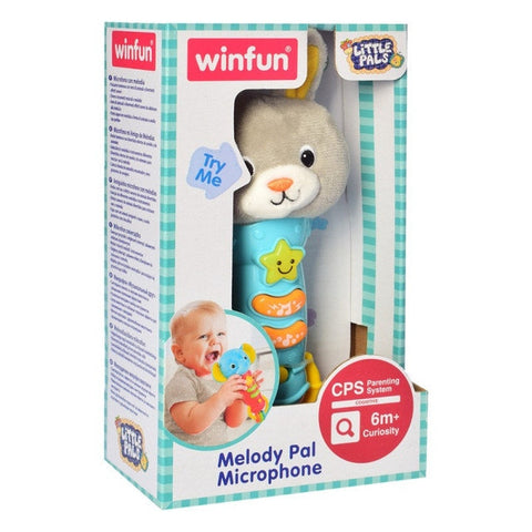Image of Winfun Bunny Melody Pal Microphone-0790