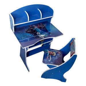 Disney Frozen Study Table with Chair-KK-FROZEN