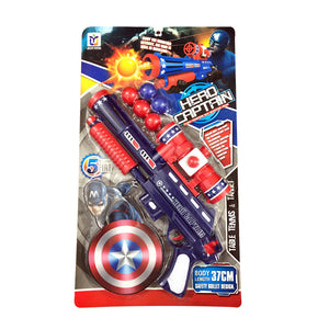 Captain America Ball Shooting Gun-648-23