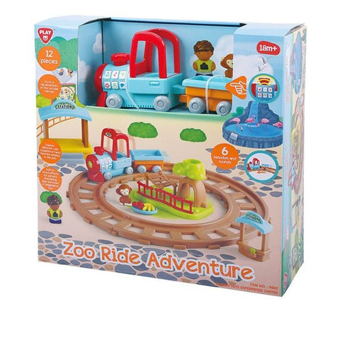 Image of Playgo Adventure Zoo B/O 9850