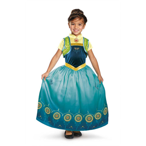 Image of Frozen Anna Costume - Green-Anna