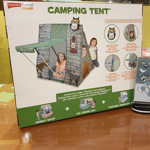 Playhut City Adventure Camping Tent