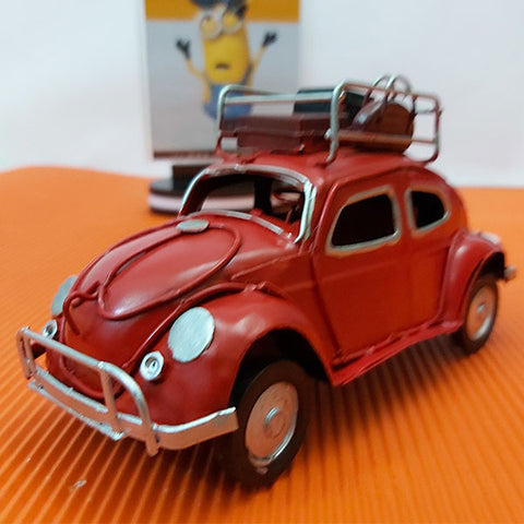 Image of Metal Hand Made - Volkswagen Beetle Taxi