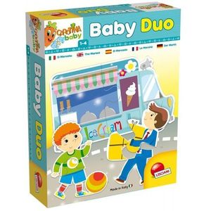 Lisciani Baby Duo The Market Puzzle