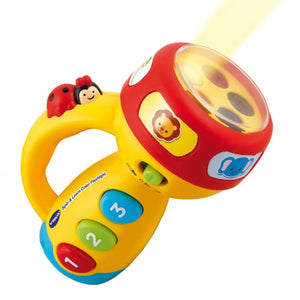 Spin & Learn Flashlight With Sound