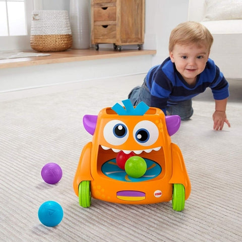 Fisher-Price Zoom 'n Crawl Monster with balls