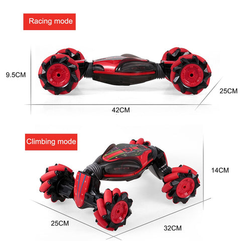 Image of Hand Gesture Control RC Double Sided Stunt Car