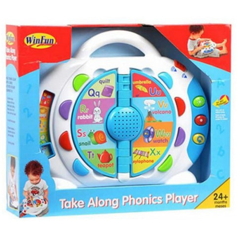 Image of Winfun - Take Along Phonics Player--2267