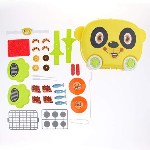 Panda BBQ Play Set Suitcase