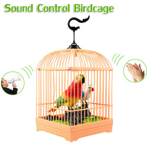 Birds With Cage And Light Sound