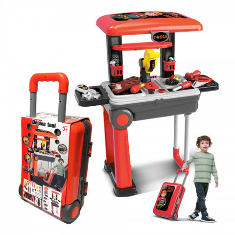 2in1 Toy Builder Deluxe Tools Set