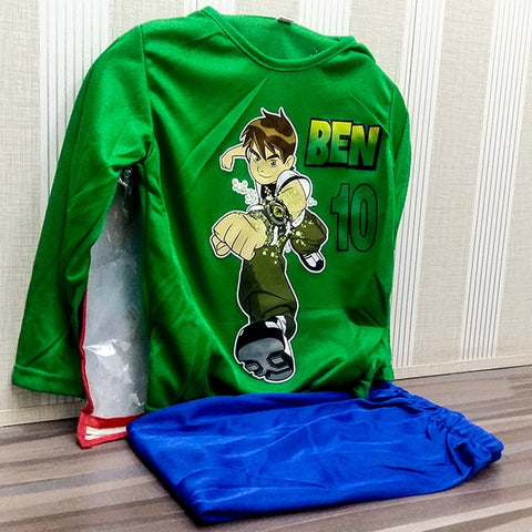 Image of Boys Boys Ben 10 Costume Small-0001
