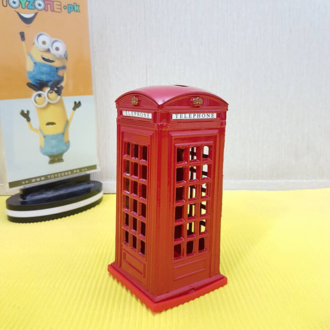 Souvenir London Telephone Box - Coin Box