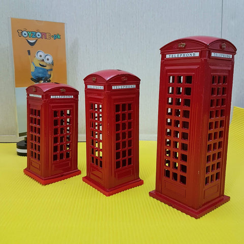 Image of Souvenir London Telephone Box - Coin Box