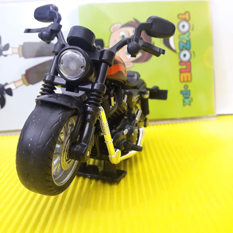 Die-cast Alloy Heavy Bike 1:14 Scale