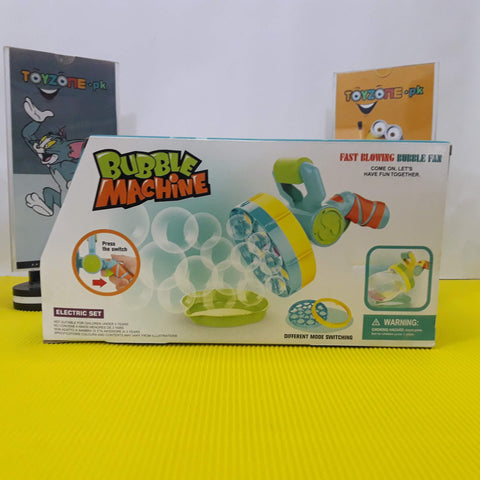 Jumbo Blasts Bubble Machine