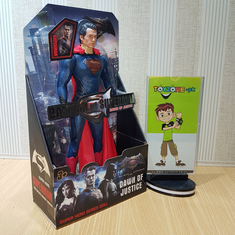 Premium Rubberized Action Figure - Super Man