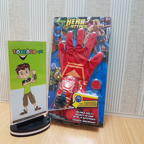 Image of Ironman Musical Disc Shooter Glove