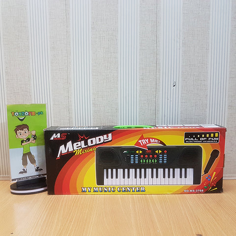 37 Keys Melody Mixing Piano with Mic - TZP1
