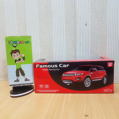 Rc Famous SUV Car 1:18 Scale - TZP1