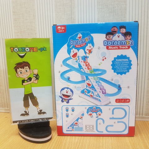 Image of Doraemon Track Set with Lights & Sound - TZP1