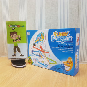 Funny Penguin Track Set with Lights & Sound - TZP1