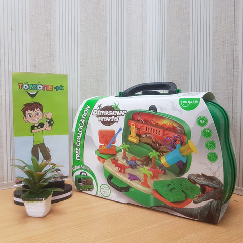 DIY Dinosaur Clay Briefcase - TZP1