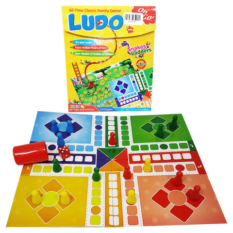 Image of Classic Ludo Game - TZP1