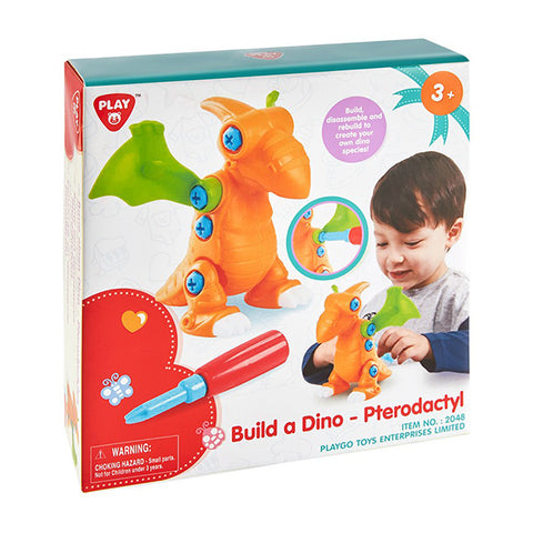 Image of Playgo Build a Dino Pterodactyl