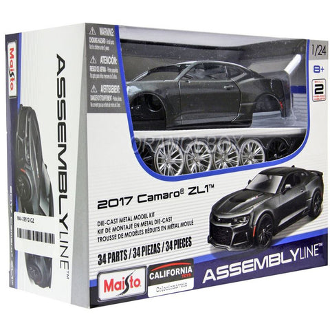 Image of Maisto 1/24 Chevrolet Camaro Assemble Car Kit