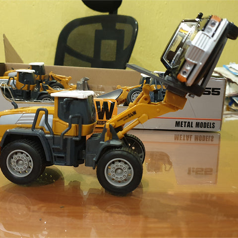 Alloy Forklift Truck Toy
