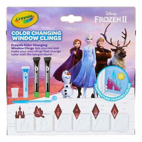 Image of Crayola Frozen 2 Color Changing Window Sticker