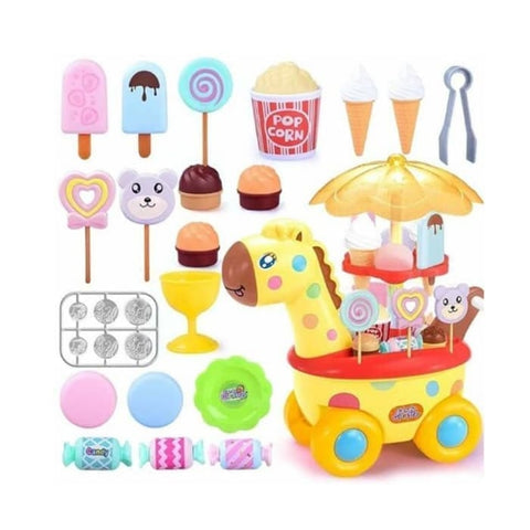 Image of Shopping Cart Candy Giraffe (50 Pieces)