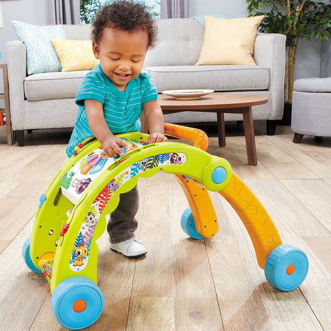 Image of Little Tikes Light 'n Go 3-in-1 Activity Walker Green