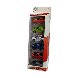 Alloy Model Cars Pack Of 6