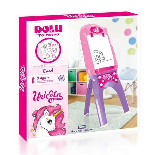 Dolu - Unicorn Writing Board Easel