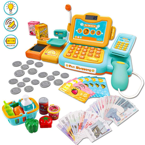 Happy Shopping Pretend Cash Register