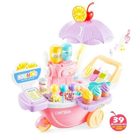 Image of Pony Sweet Shopping Cart (39 Pieces)